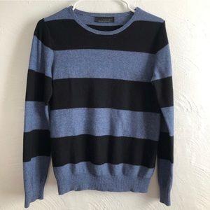 Black Tag by Zara Man Striped Sweater